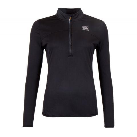 Canterbury-VapoDri-Poly-1-4-Zip-Shirt-Dames