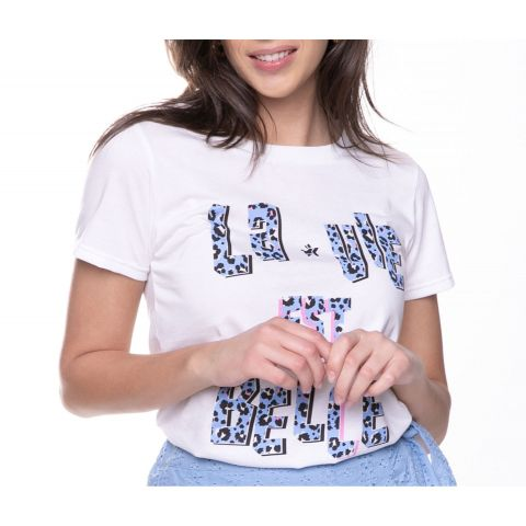 Colourful-Rebel-La-Vie-Est-Belle-Classic-Shirt-Dames