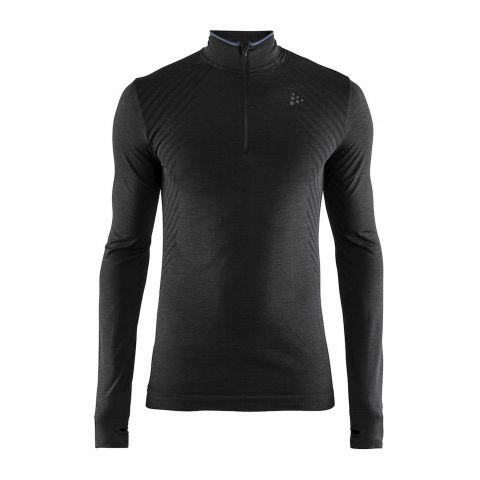 Craft-FuseKnit-Comfort-Zip-Longsleeve-Hardloopshirt-Heren