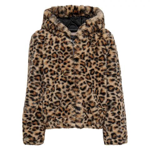 Kids-Only-Malou-Faux-Fur-Hooded-Bontjas-Meisjes-2108300940