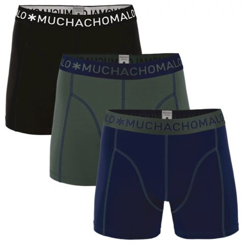 Muchachomalo-Solid-Boxers-Heren-3-pack-