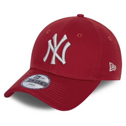New-Era-9Forty-League-Essential-NY-Yankees-Cap-Junior-2106230949