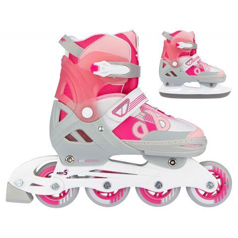 Nijdam-Skate-Schaats-Combo-Bold-Berry-Jr