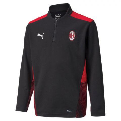Puma-AC-Milan-1-4-Zip-Top-Trainingssweater-Junior-2108241823