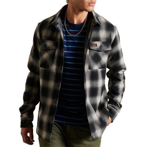 Superdry-Wool-Miller-Overhemd-Heren-2110221622